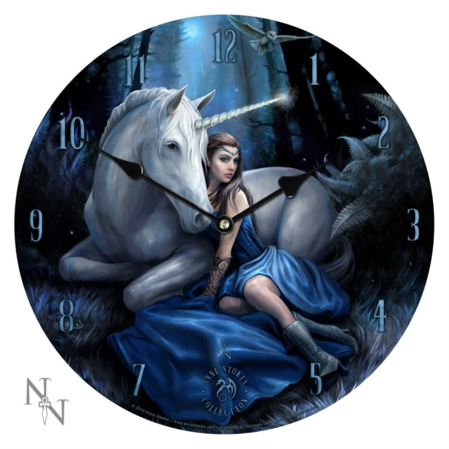 Blue Moon  Orologio - Anne Stokes