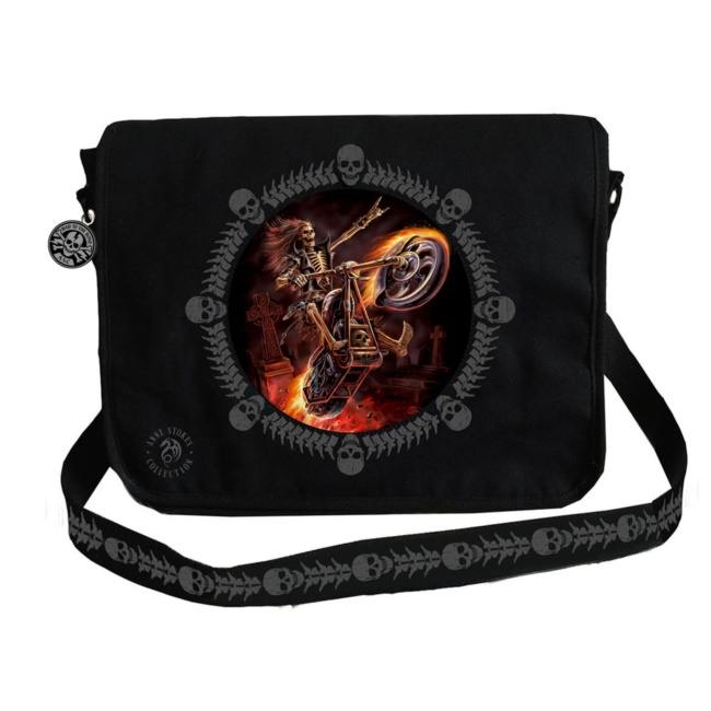 Borsa Messanger Hell Rider di Anne Stokes
