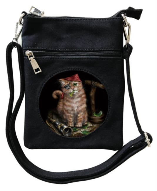 Borsa con gatto Pirate Kitten