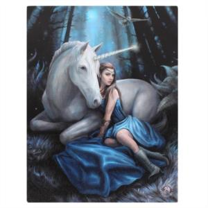Canvas - Blue Moon di Anne Stokes