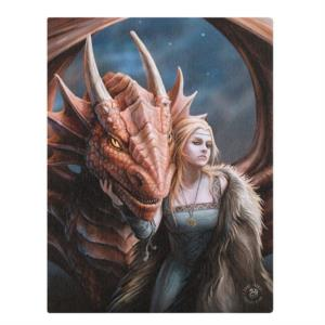 Canvas - Friend or Foe di Anne Stokes