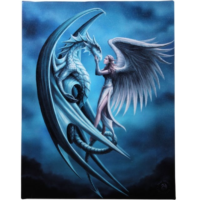 Canvas - Silver Back di Anne Stokes
