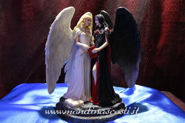 Dark and Light Angels