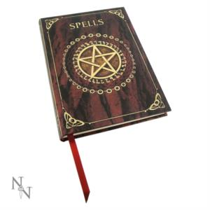 Diario Wicca Spells Red