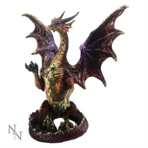 Drago Colorato Red Dragon Protector