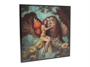 Fairy and Owl di James Ryman - quadro