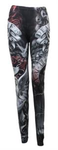 LIFE AND DEATH CROSS - Leggings