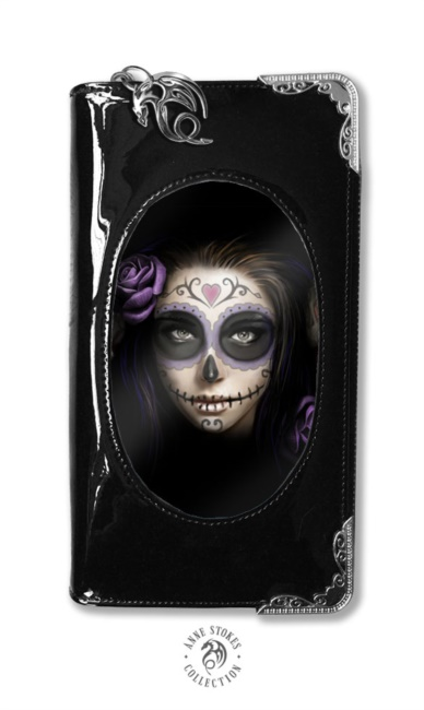 Portafoglio 3D Day of The Dead di Anne Stokes