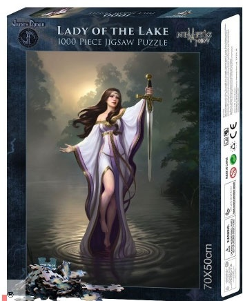 Puzzle Lady of the Lake
