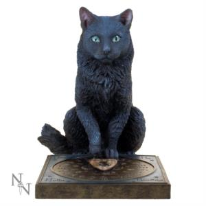 Statua di Gatto Nero His Masters Voice