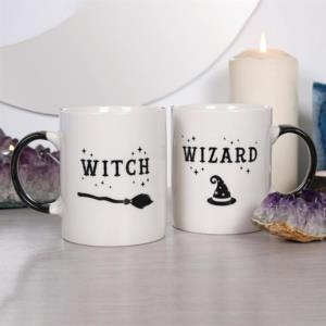 Tazza . Witch and Wizard