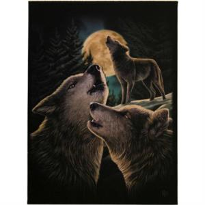 Tela in Canvas - Wolf Song di Lisa Parker