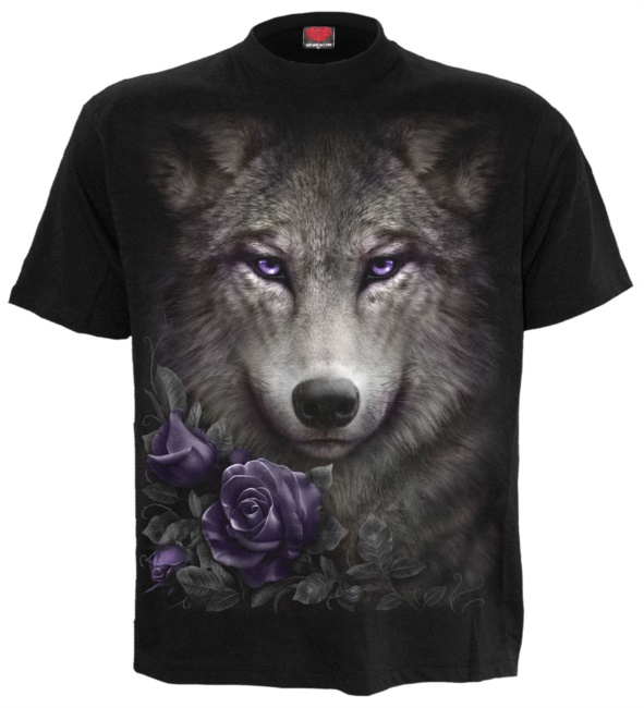 WOLF ROSES - T-shirt (S)